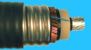 132kV cable with optical DTS fibre